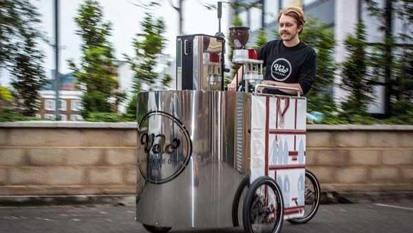 The Velopresso: Ένα εσπρέσο μπαρ σε ποδήλατο κέρδισε το βραβείο design!