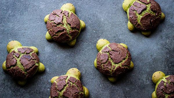 Δημιουργήστε χελωνάκια ψωμιού με γέμιση λευκής σοκολάτας για το πιο απίθανο party!