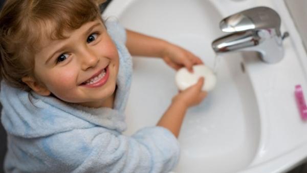 Μάθετε στα παιδιά 5 σημαντικές συνήθειες υγιεινής