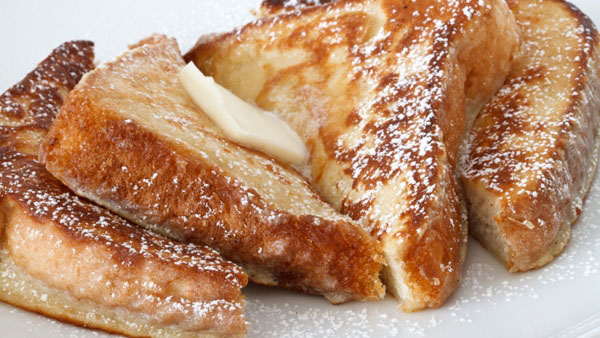 Λαχταριστό γαλλικό τοστ για ένα γλυκό πρωινό ενέργειας!