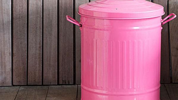Πώς να διώξετε όλες τις άσχημες μυρωδιές από τον κάδο των σκουπιδιών