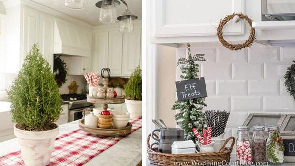 20+ ιδέες για μια Χριστουγεννιάτικη διακόσμηση στην Κουζίνα