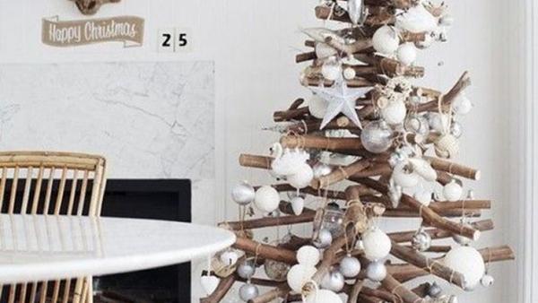 Οι πιο cool ιδέες για εναλλακτικά Χριστουγεννιάτικα Δέντρα