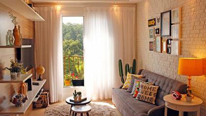 Δείτε ένα πανέμορφο μικρό και χαριτωμένο σπίτι με ρετρό πινελιές!