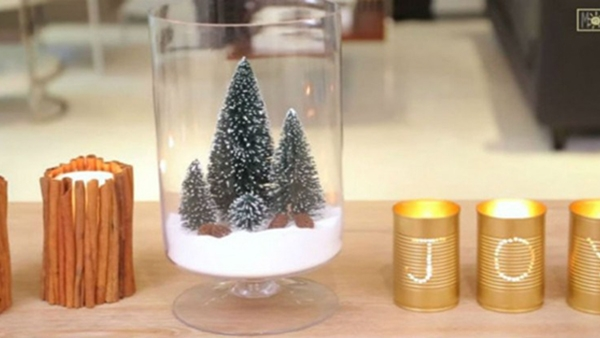 3 πανεύκολες και ανέξοδες Χριστουγεννιάτικες κατασκευές με κανέλα και αλάτι! (video)