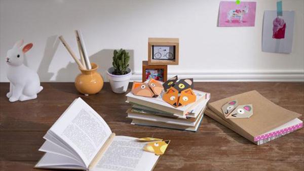 DIY: Φτιάξτε βήμα βήμα παιχνιδιάρικους σελιδοδείκτες για την παιδική βιβλιοθήκη!