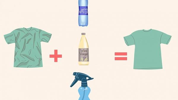 Το είχατε σκεφτεί; Κι όμως υπάρχουν 8 τρόποι να σιδερώσετε τα ρούχα σας χωρίς σίδερο!