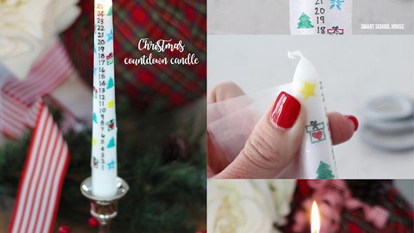 Μια «ζεστή» ιδέα για την οικογένειά σας: Φτιάξτε ένα κερί Αντίστροφης Μέτρησης για τα Χριστούγεννα!