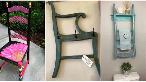 Πώς να ανακυκλώσετε και να επαναχρησιμοποιήσετε παλιές ξύλινες καρέκλες