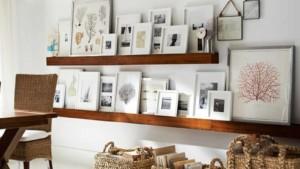 6 τρόποι για να κρεμάσετε τα κάδρα στο σπίτι σας όπως οι διακοσμητές